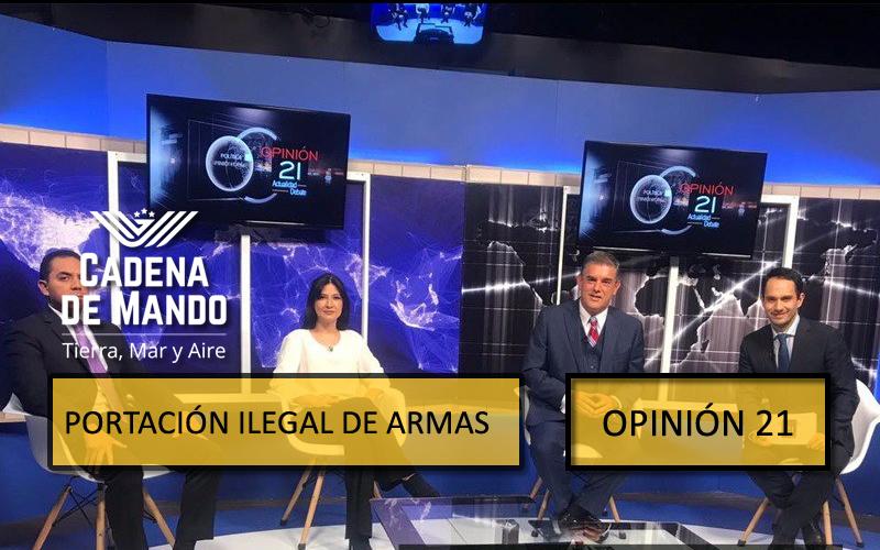 TRÁFICO Y PORTACIÓN ILEGAL DE ARMAS - CADENA DE MANDO