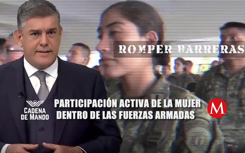 LA MUJER EN LAS FUERZAS ARMADAS - JUAN IBARROLA