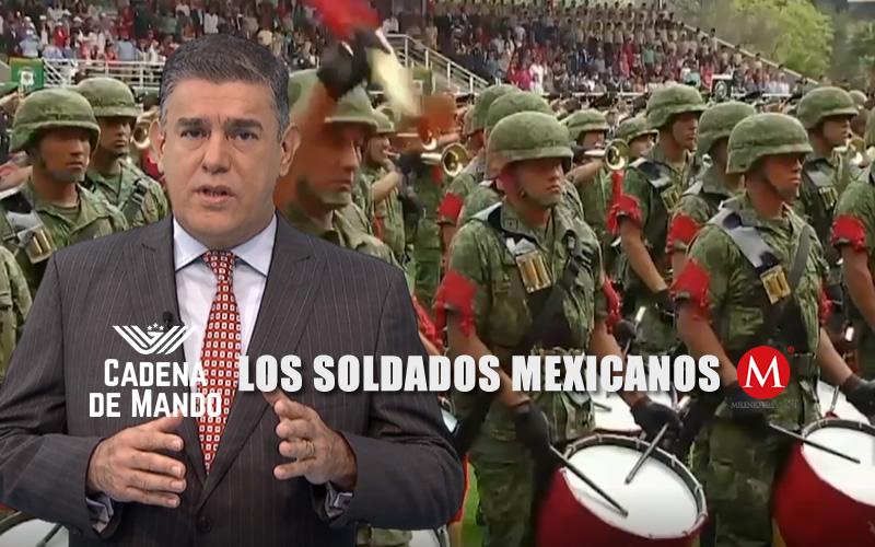 LOS SOLDADOS MEXICANOS - JUAN IBARROLA