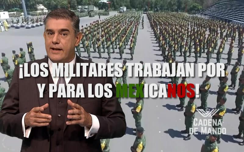 LAS FUERZAS ARMADAS TRABAJAN POR Y PARA LOS MEXICANOS - JUAN IBARROLA MILENIO