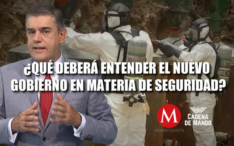 """""""LEGALIZANDO LA MOTA NO SE ACABA EL PROBLEMA DE SEGURIDAD"""" CADENA DE MANDO"""