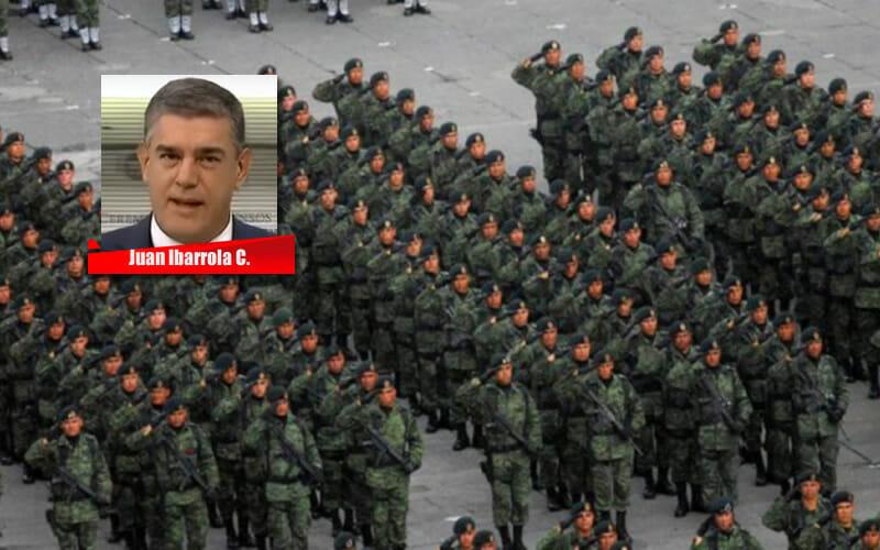 LA RESPONSABILIDAD DE LA DEFENSA NACIONAL - JUAN IBARROLA