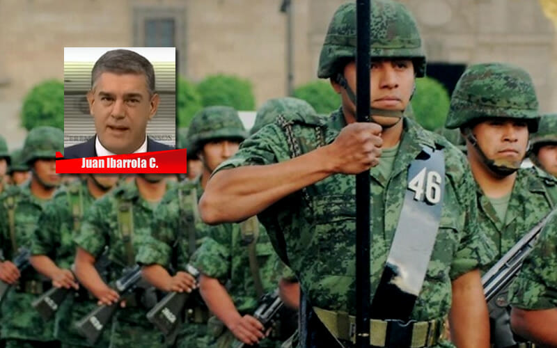 LA ESENCIA DEL SOLDADO MEXICANO - JUAN IBARROLA