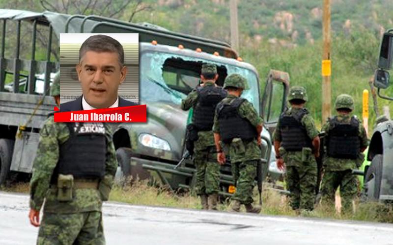 ¡A ENFRENTARLOS! - JUAN IBARROLA CADENA DE MANDO