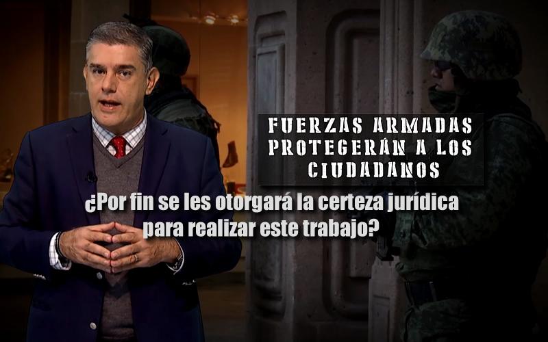 LOS MILITARES NO IMPONEN TERROR - CADENA DE MANDO - JUAN IBARROLA