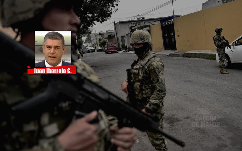 QUE NO SE CONFUNDA LA NATURALEZA MILITAR - JUAN IBARROLA CADENA DE MANDO