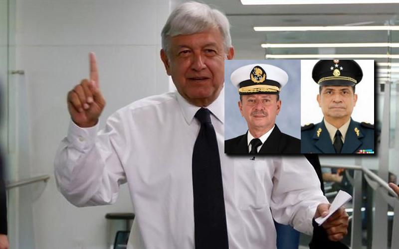 AMLO ocultó la manera de designar titulares de SEDENA y SEMAR - CADENA DE MANDO - EL WESO - JUAN IBARROLA