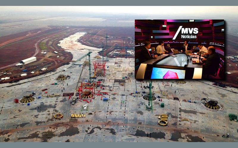 futuro del proyecto del Nuevo Aeropuerto Internacional de México - Cadena de Mando