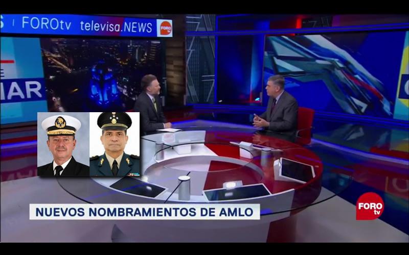 TITULARES DE LA SEDENA Y SEMAR, ¿IDEALES EN FUERZAS ARMADAS? - FORO TV - CADENA DE MANDO