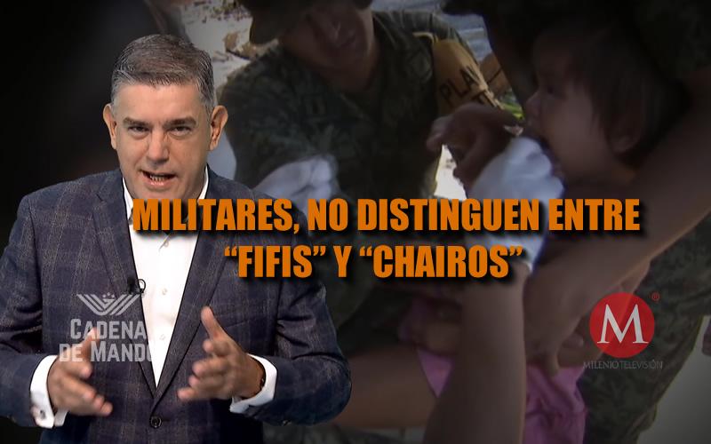 LOS MILITARES NO DISTINGUEN ENTRE FIFIS Y CHAIROS - CADENA DE MANDO - JUAN IBARROLA