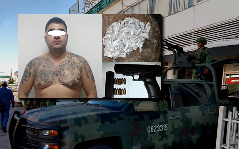 Detienen a El 300 Ejército Mexicano y PF - CADENA DE MANDO