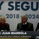 PLAN NACIONAL DE PAZ Y SEGURIDAD DE AMLO 2018- 2024 - JUAN IBARROLA - CADENA DE MANDO