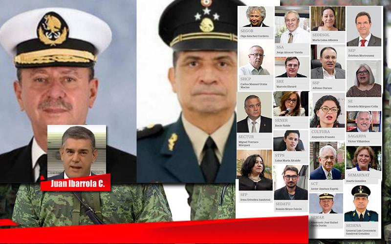 LOS RETOS DEL GENERAL Y EL ALMIRANTE - I - JUAN IBARROLA