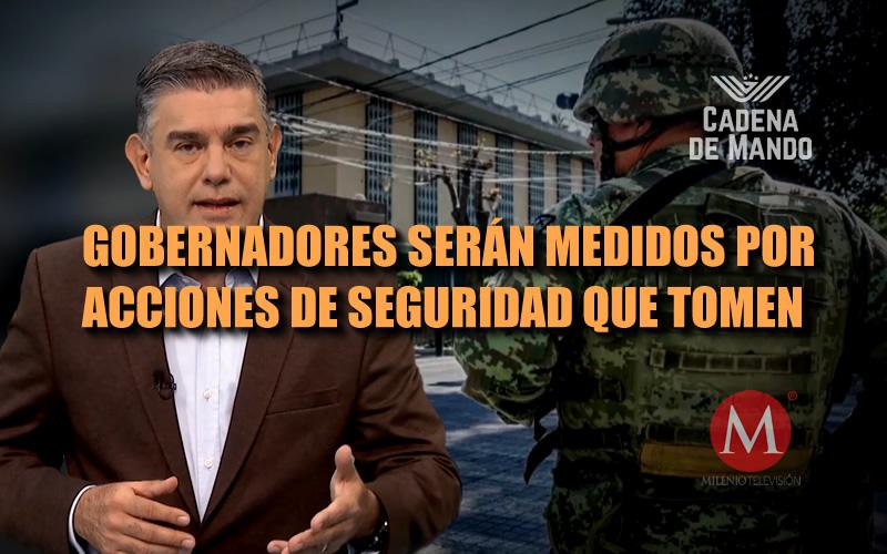 GOBERNADORES TIENEN SÓLO 2 OPCIONES - CADENA DE MANDO - JUAN IBARROLA