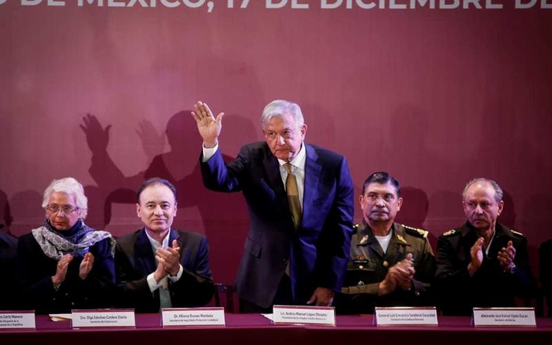 AMLO encabeza Encuentro Nacional para la Construcción de Paz y Seguridad - CADENA DE MANDO