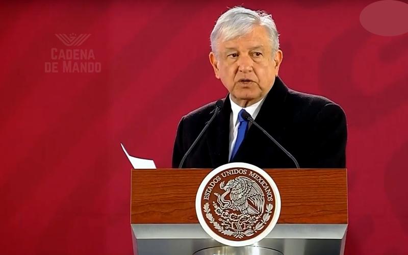 AMLO pedirá al Senado haga cambios en el dictamen que crea la Guardia Nacional