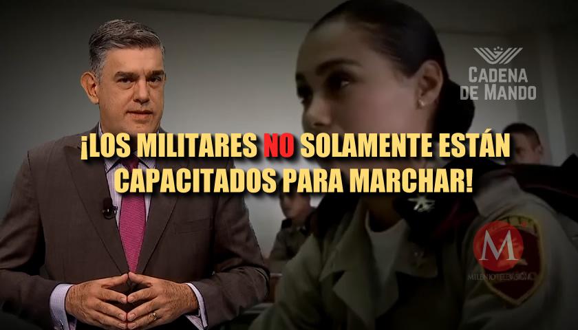 LA PREPARACIÓN DE LAS FUERZAS ARMADAS EN MÉXICO - Cadena de Mando Juan Ibarrola