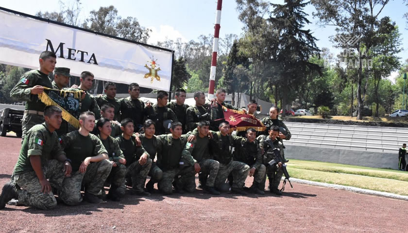 Victoria del Heroico Colegio Militar en Competencia Chimaltlalli 2019 - Cadena de Mando