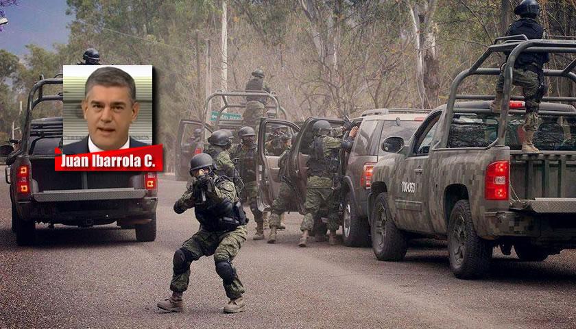 ESPACIO MILITAR VS ESPACIO CRIMINAL - Juan Ibarrola