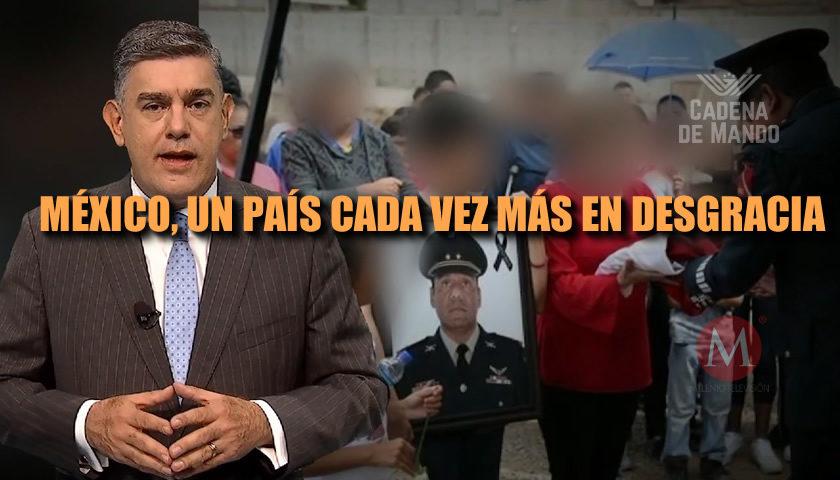 MÉXICO UN PAÍS CADA DÍA MÁS EN DECADENCIA - CADENA DE MANDO