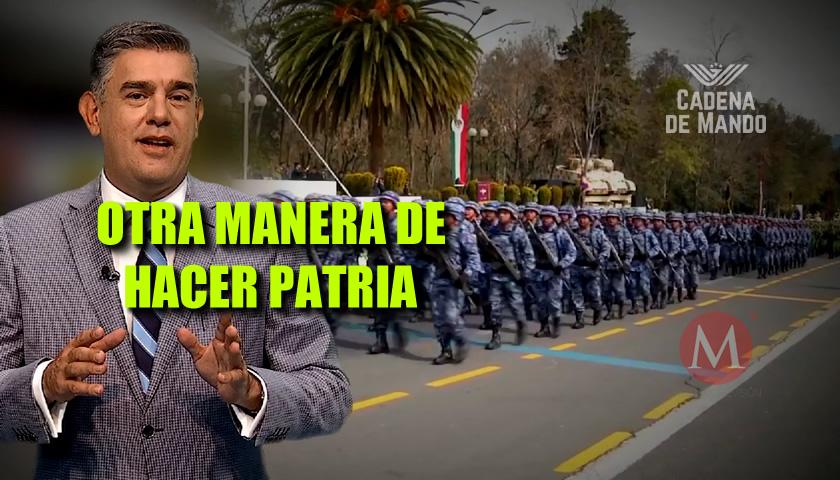 OTRA MANERA DE HACER PATRIA - CADENA DE MANDO