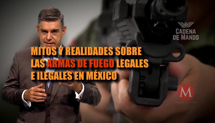 Mitos y realidades sobre la posesión de armas legales e ilegales en México